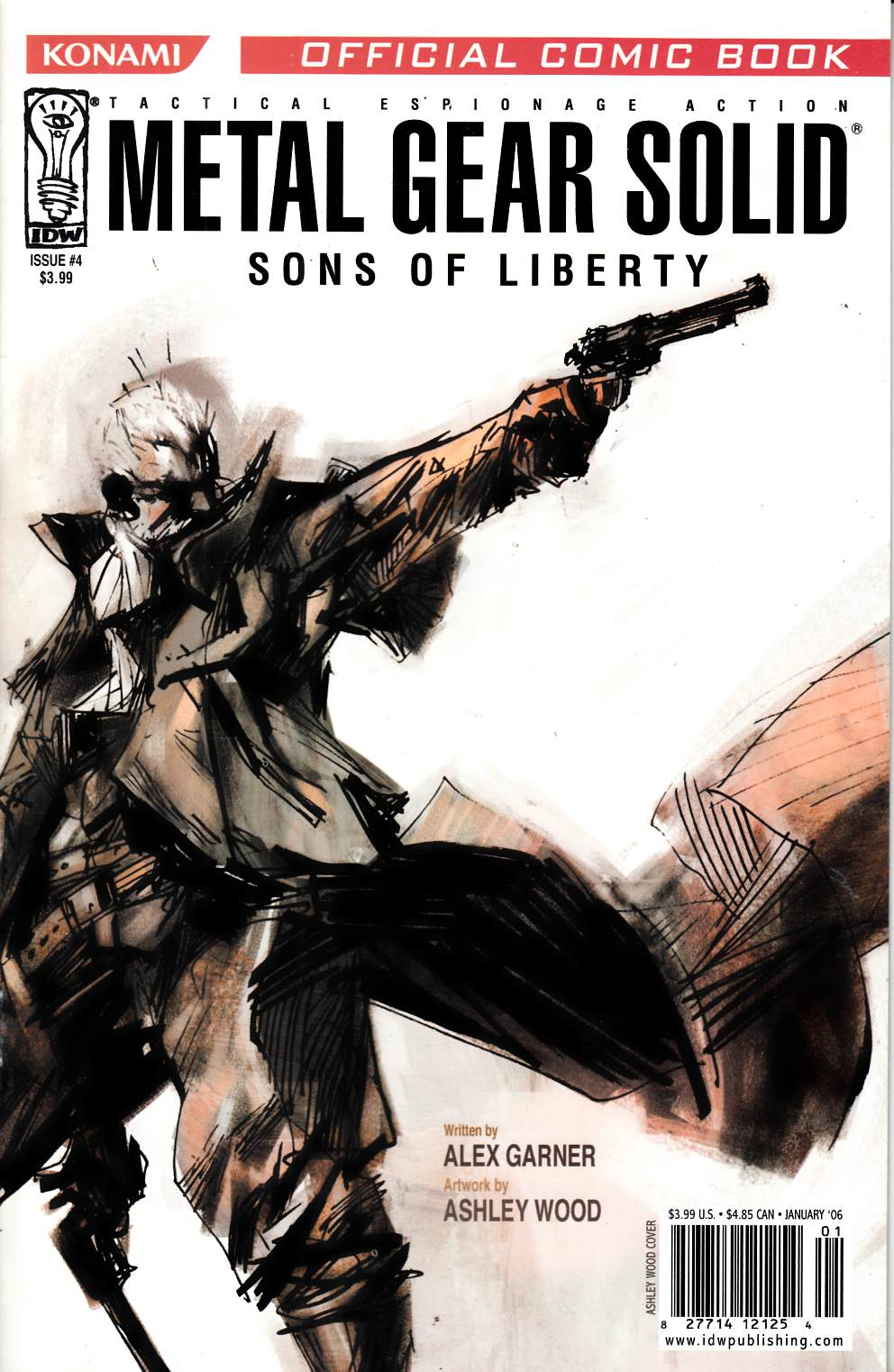 Metal Gear Solid Sons of Liberty #4 Near Mint (9.4) [IDW Comic] THUMBNAIL