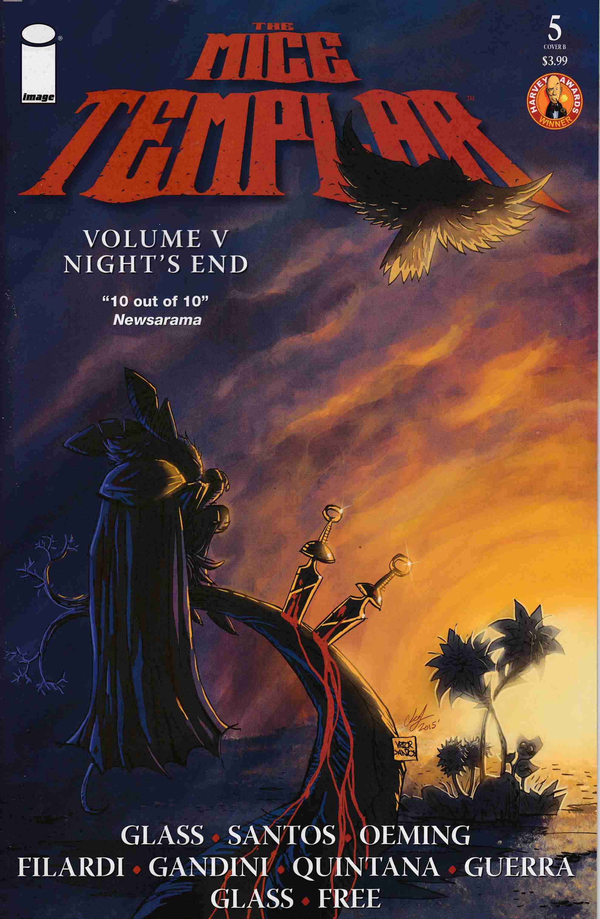 Mice Templar V Nights End #5 Cover- B [Image Comic]_THUMBNAIL