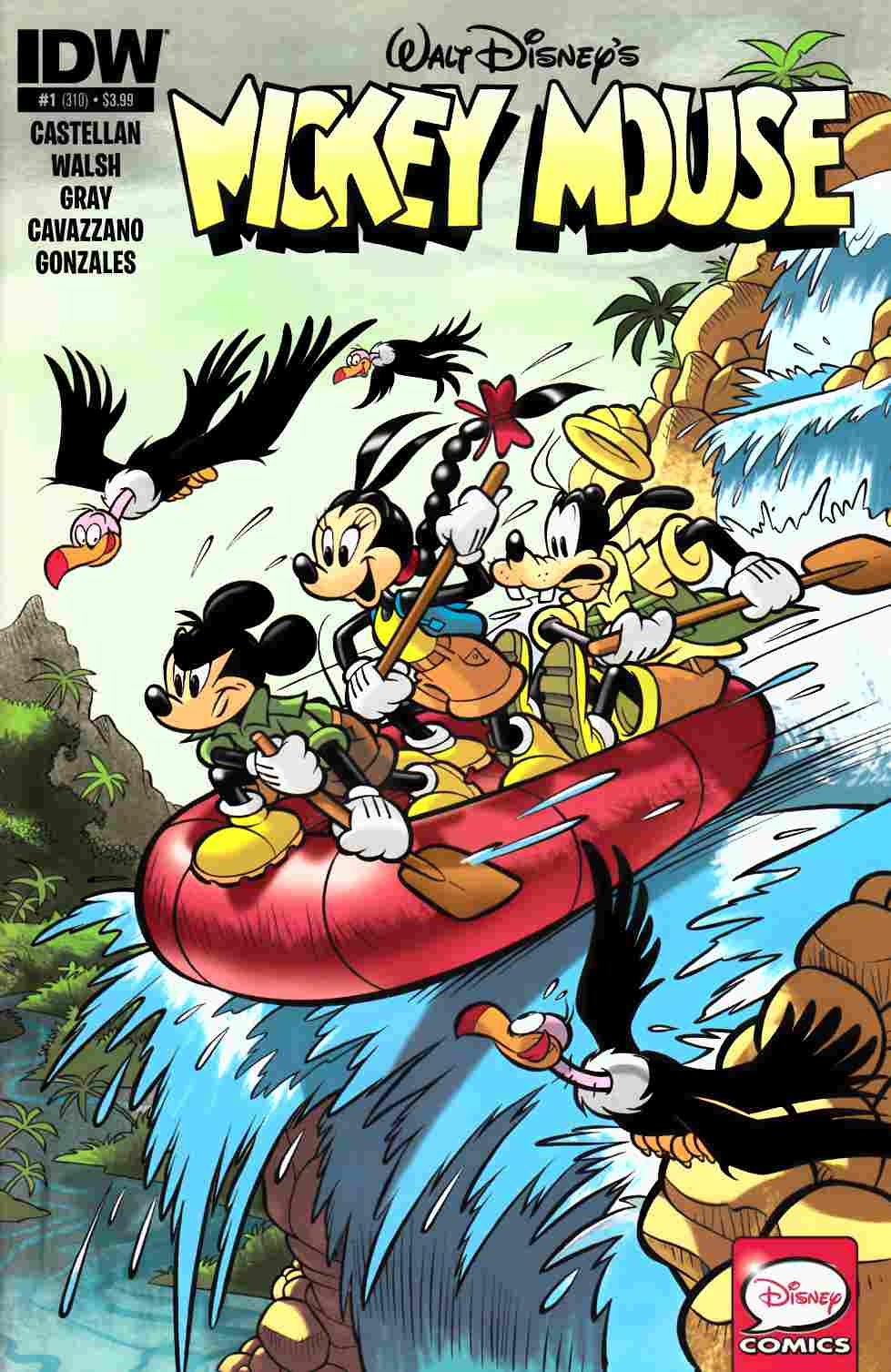Mickey Mouse #1 [IDW Comic] THUMBNAIL