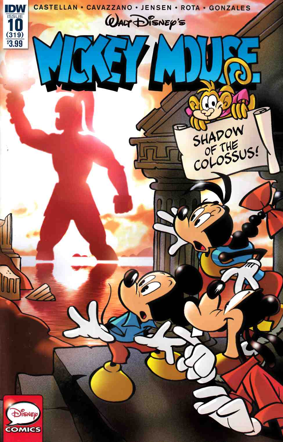 Mickey Mouse #10 [IDW Comic] THUMBNAIL