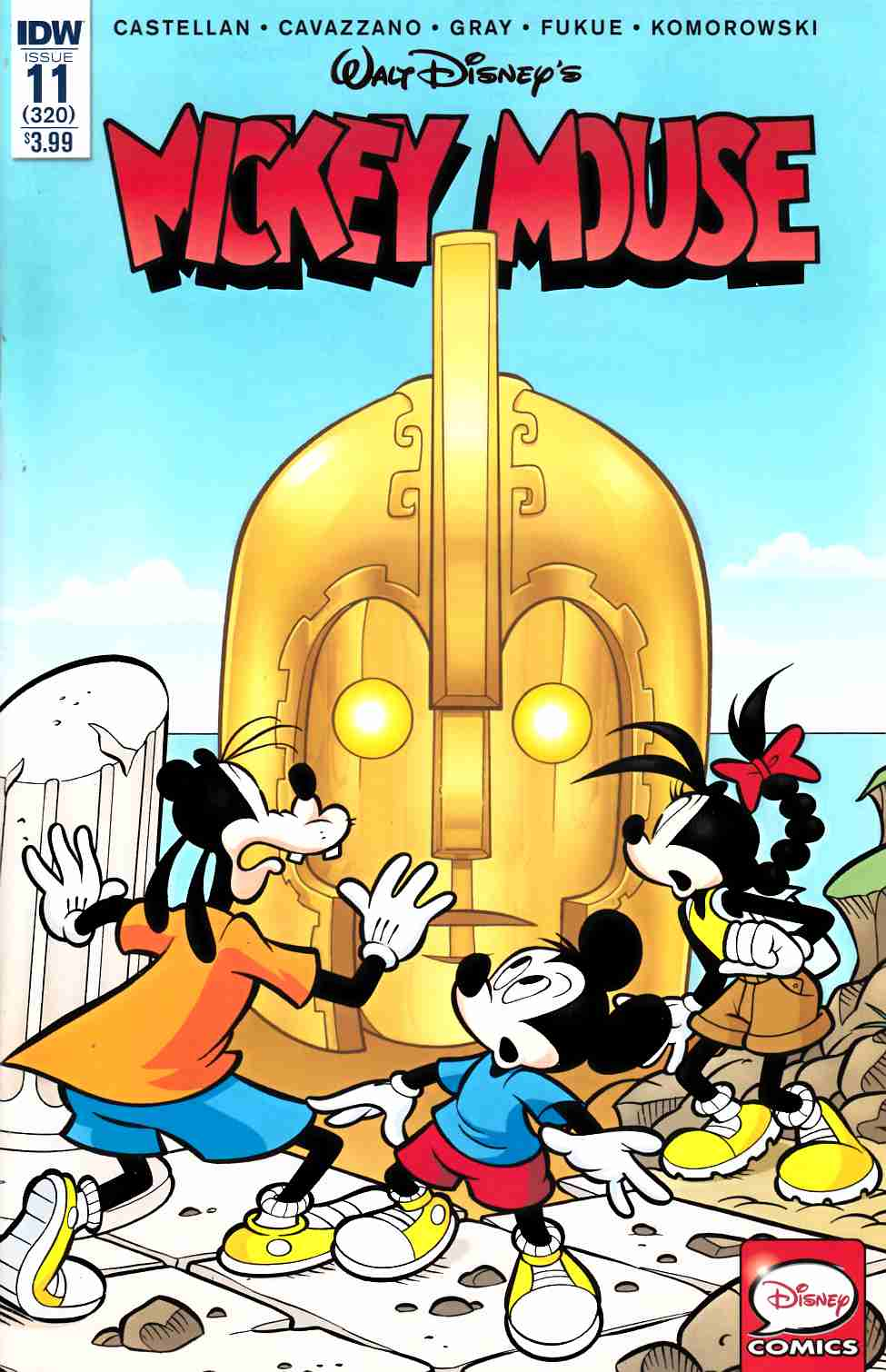 Mickey Mouse #11 [IDW Comic] THUMBNAIL