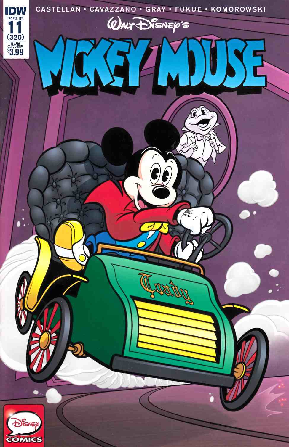 Mickey Mouse #11 Subscription Cover [IDW Comic] THUMBNAIL
