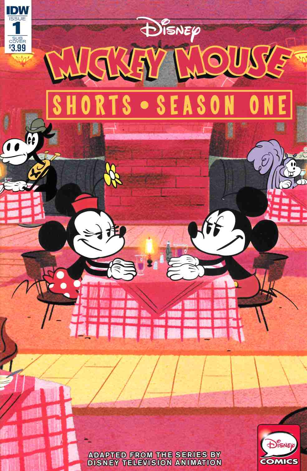 Mickey Mouse Shorts Season 1 #1 Subscription Cover [IDW Comic] THUMBNAIL