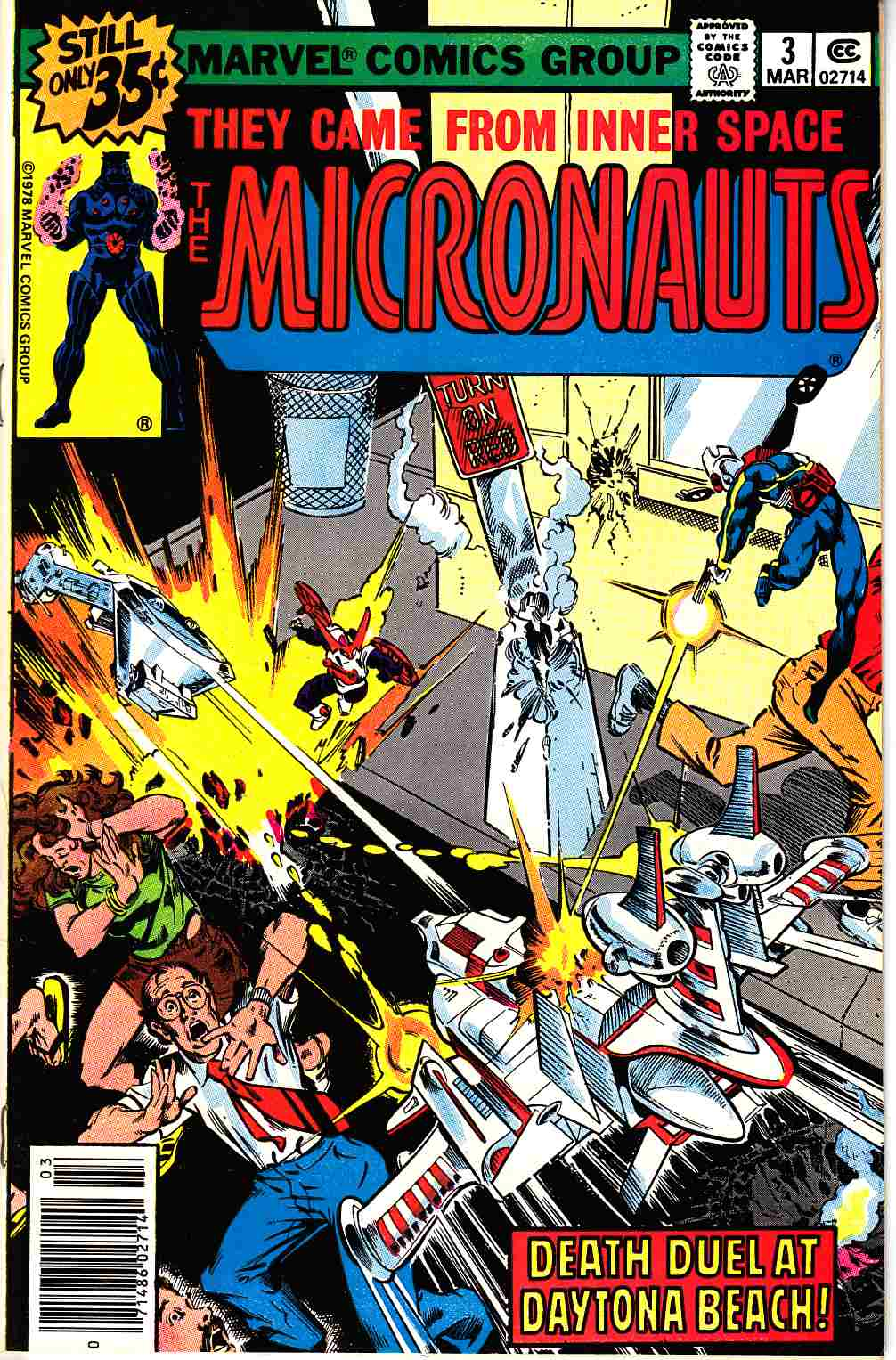 Micronauts #3 [Marvel Comic] LARGE