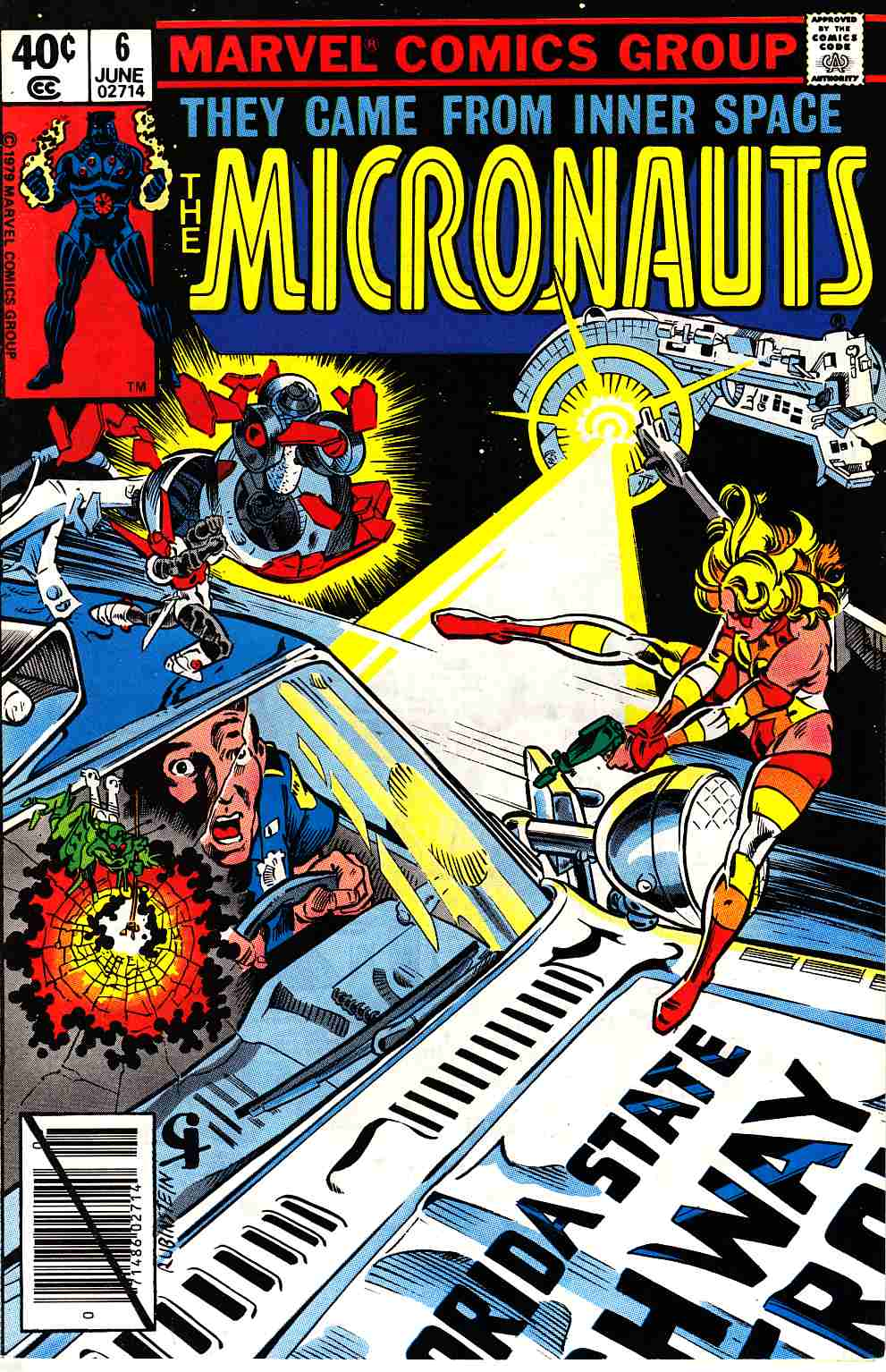 Micronauts #6 [Marvel Comic] LARGE