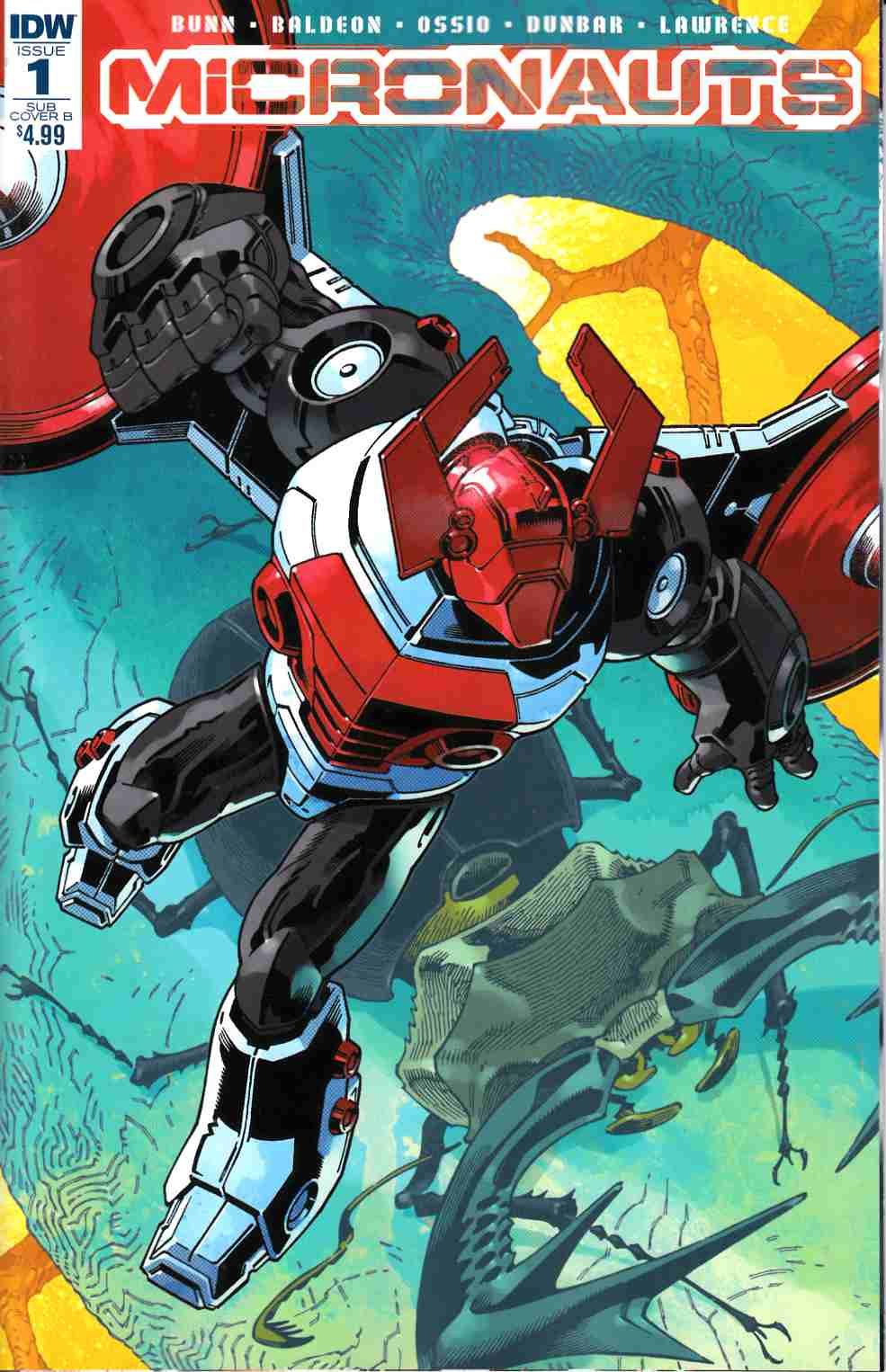 Micronauts #1 Subscription Variant B Cover [IDW Comic] LARGE