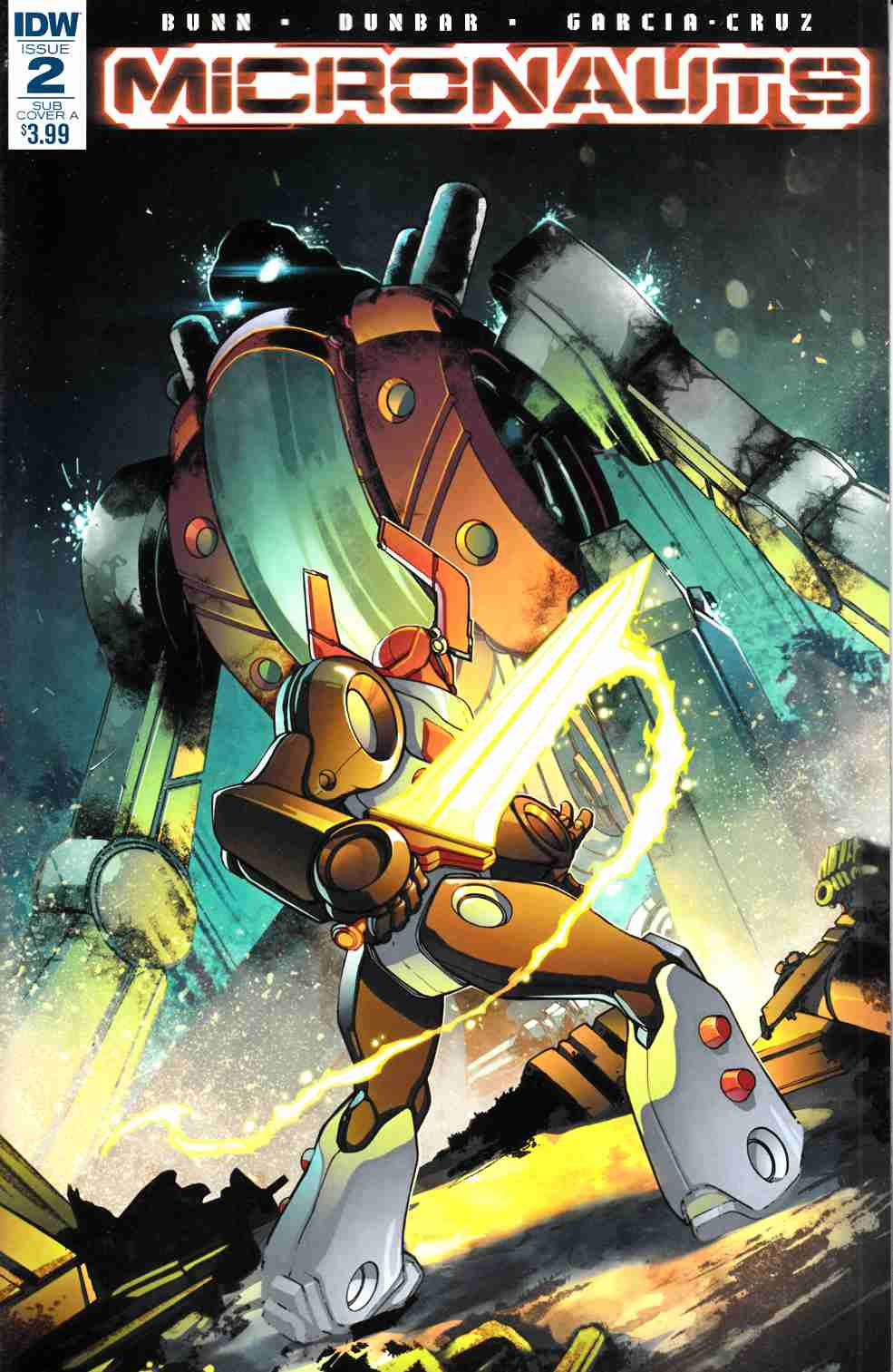 Micronauts #2 Subscription Cover A [IDW Comic] LARGE