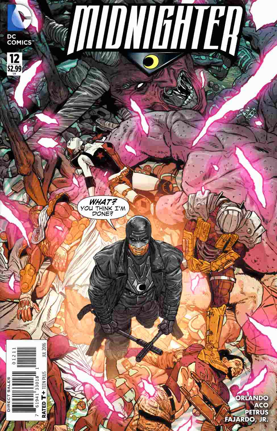 Midnighter #12 [DC Comic] LARGE