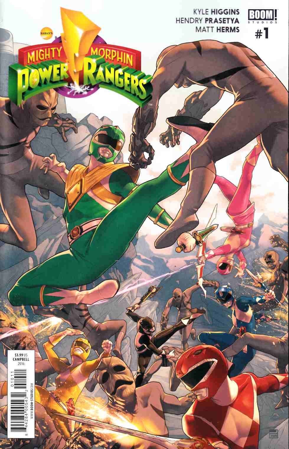 Mighty Morphin Power Rangers #1 [Boom Comic]