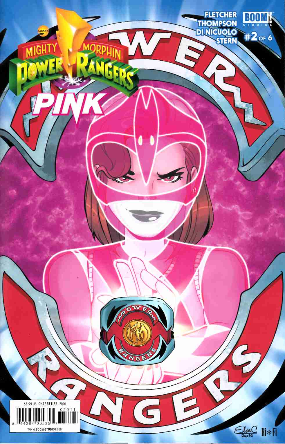 Power Rangers Pink #2 [Boom Comic] THUMBNAIL