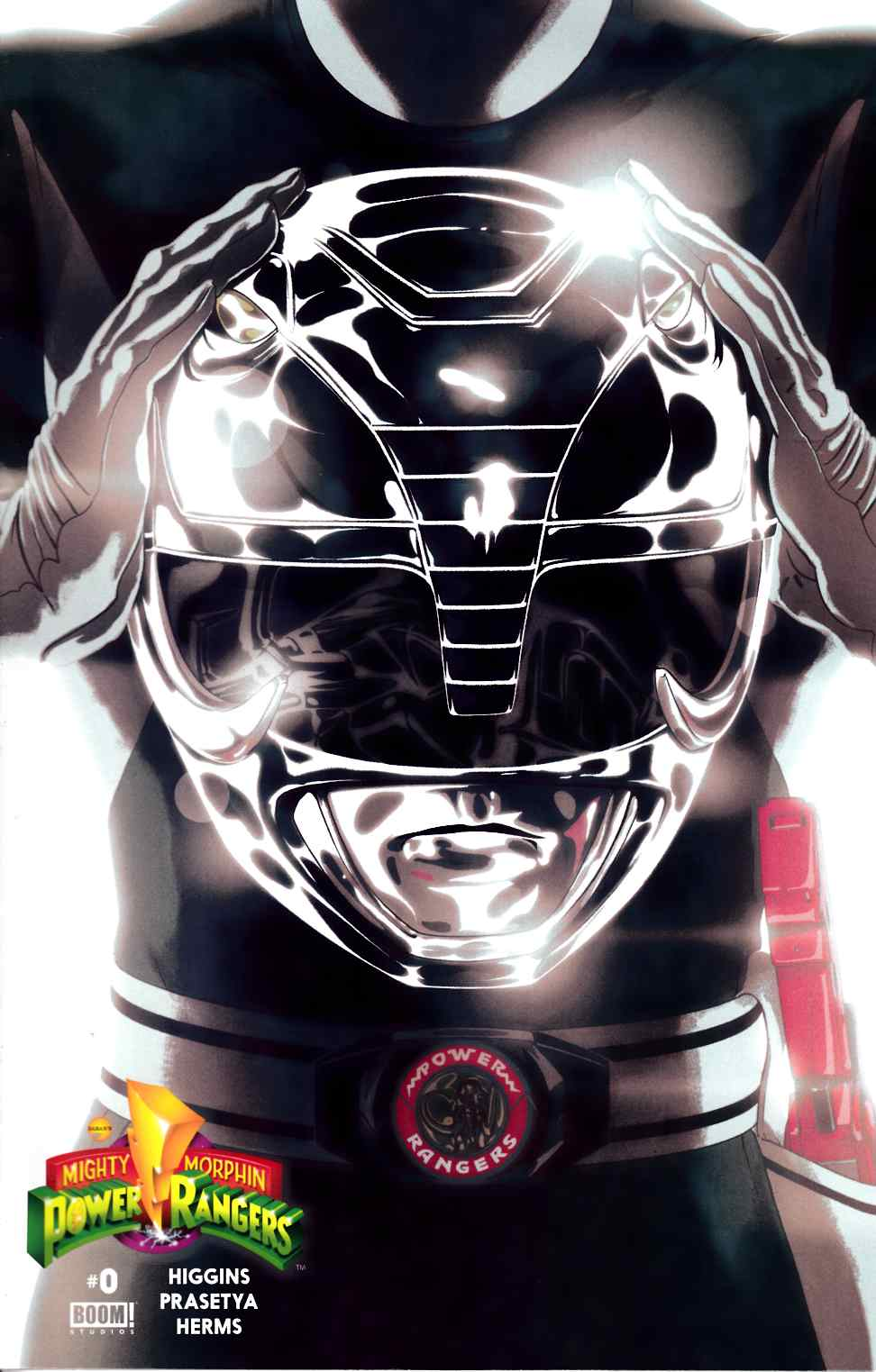 Mighty Morphin Power Rangers #0 Black Ranger Cover [Boom Comic]