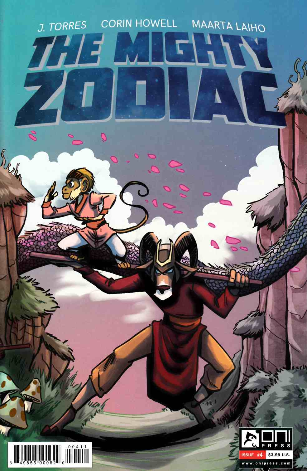 Mighty Zodiac #4 [Oni Press Comic]_THUMBNAIL