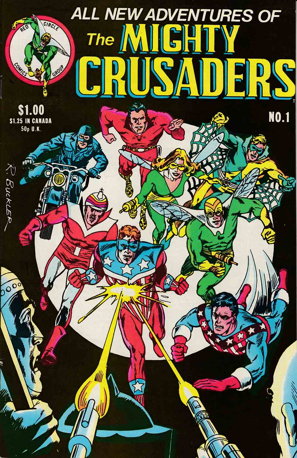 Mighty Crusaders #1 Very Fine Minus (7.5) [Archie Comic] THUMBNAIL