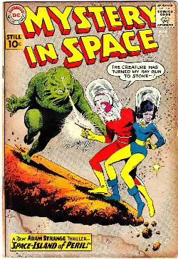 Mystery in Space #66 [DC Comic] LARGE