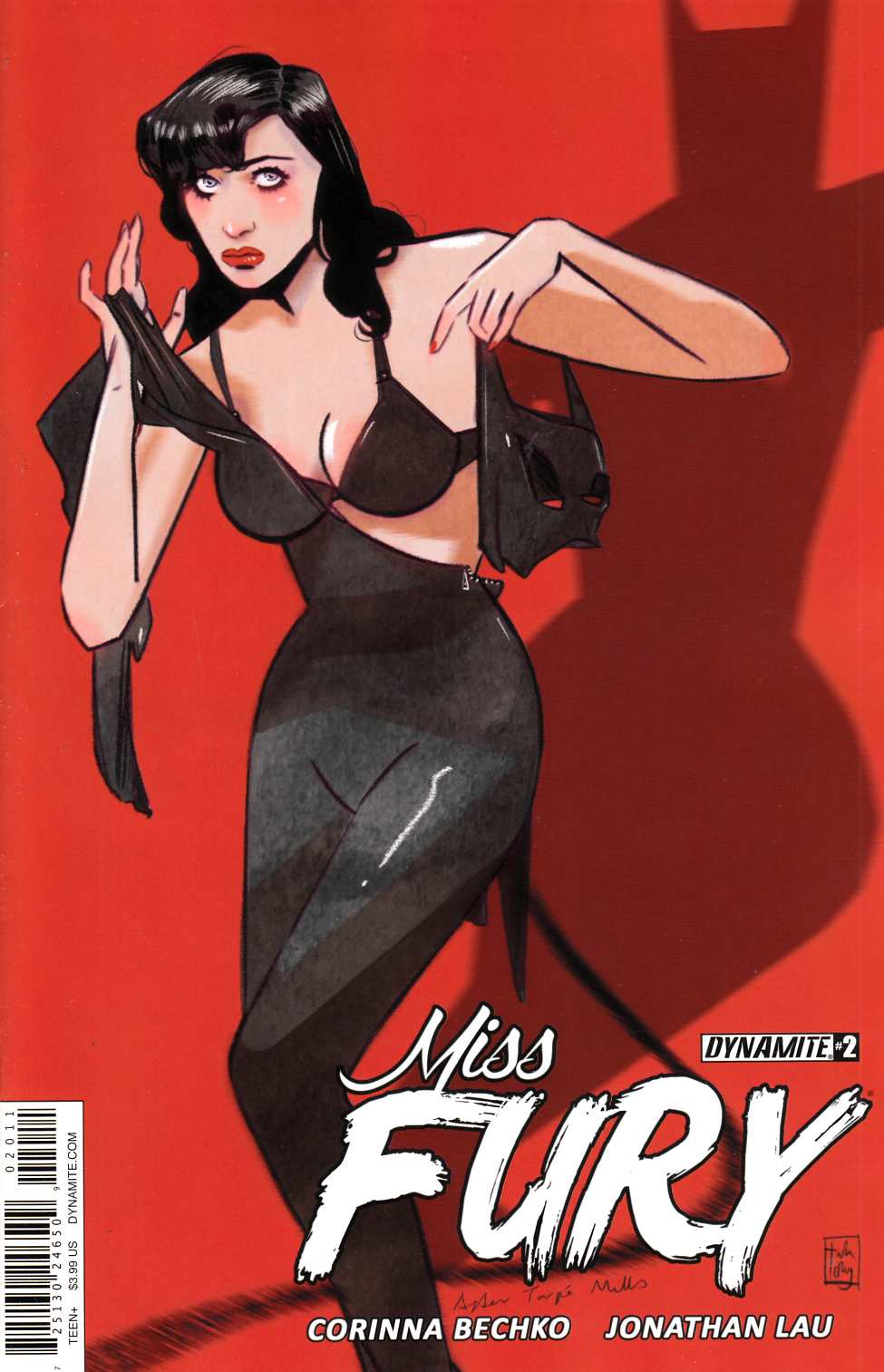 Miss Fury Vol 2 #2 Cover A [Dynamite Comic]