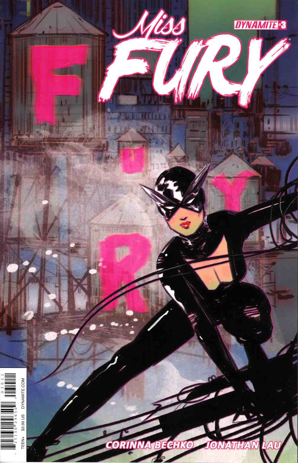 Miss Fury Volume 2 #3 Cover A [Dynamite Comic]