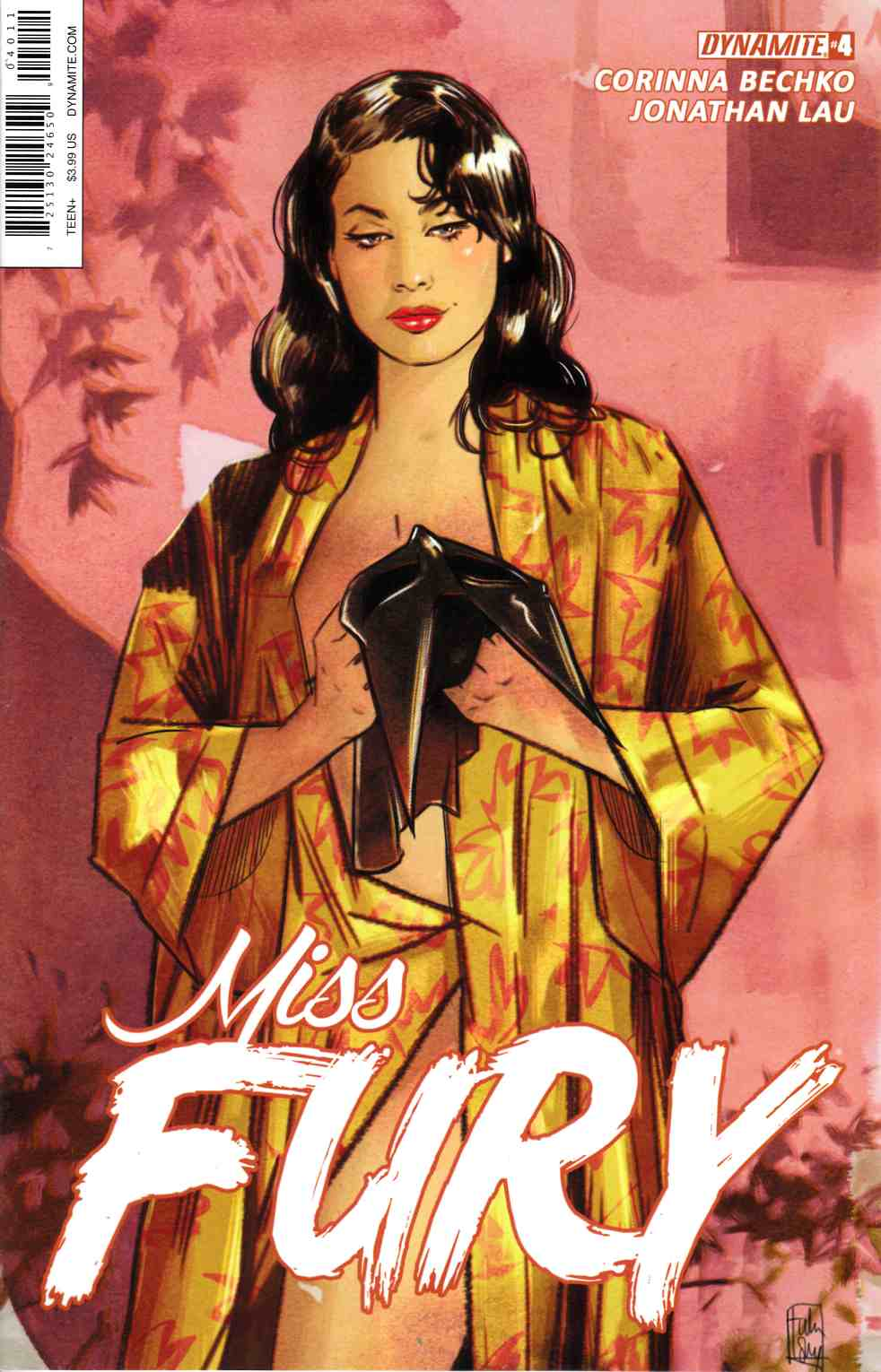 Miss Fury Vol 2 #4 Cover A [Dynamite Comic] LARGE