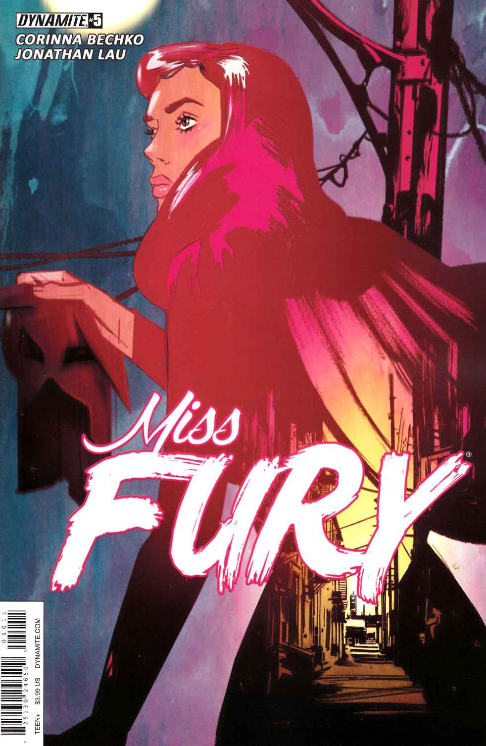 Miss Fury Vol 2 #5 Cover A [Dynamite Comic]