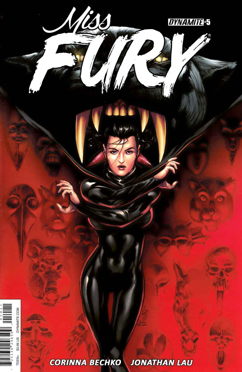 Miss Fury Vol 2 #5 Cover B [Dynamite Comic]