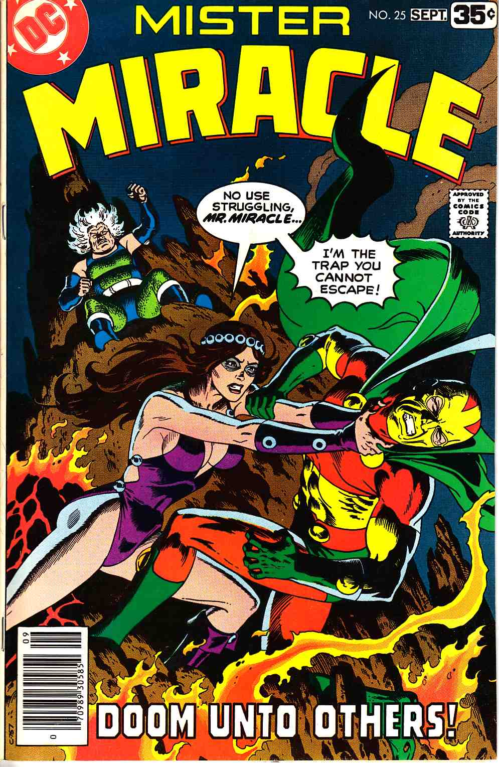 Mister Miracle #25 [DC Comic] LARGE