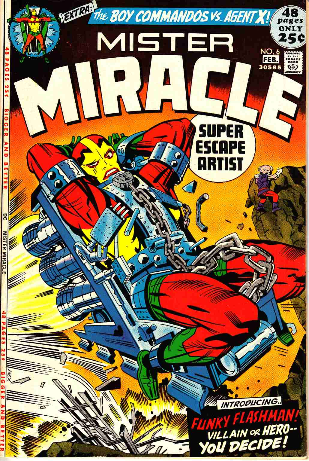 Mister Miracle #6 Very Fine (8.0) [DC Comic] LARGE