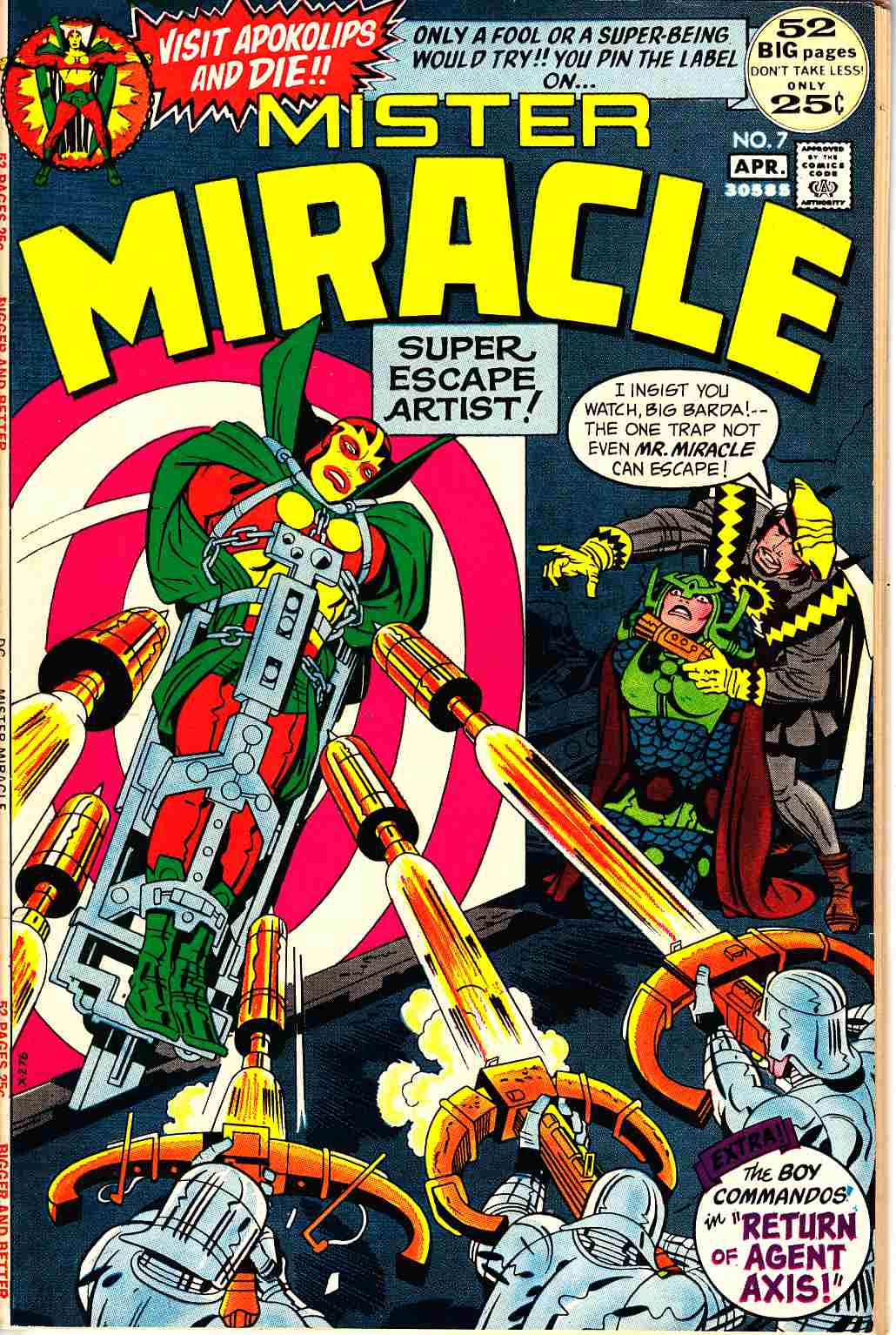 Mister Miracle #7 Very Fine/Near Mint (9.0) [DC Comic]