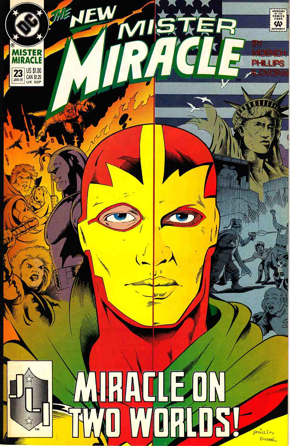 Mister Miracle #23 Very Fine (8.0) [DC Comic] LARGE