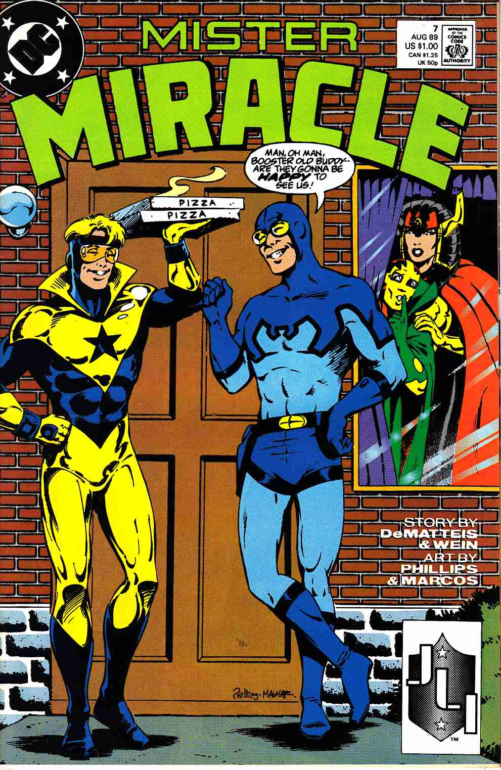 Mister Miracle #7 Near Mint (9.4) [DC Comic] THUMBNAIL