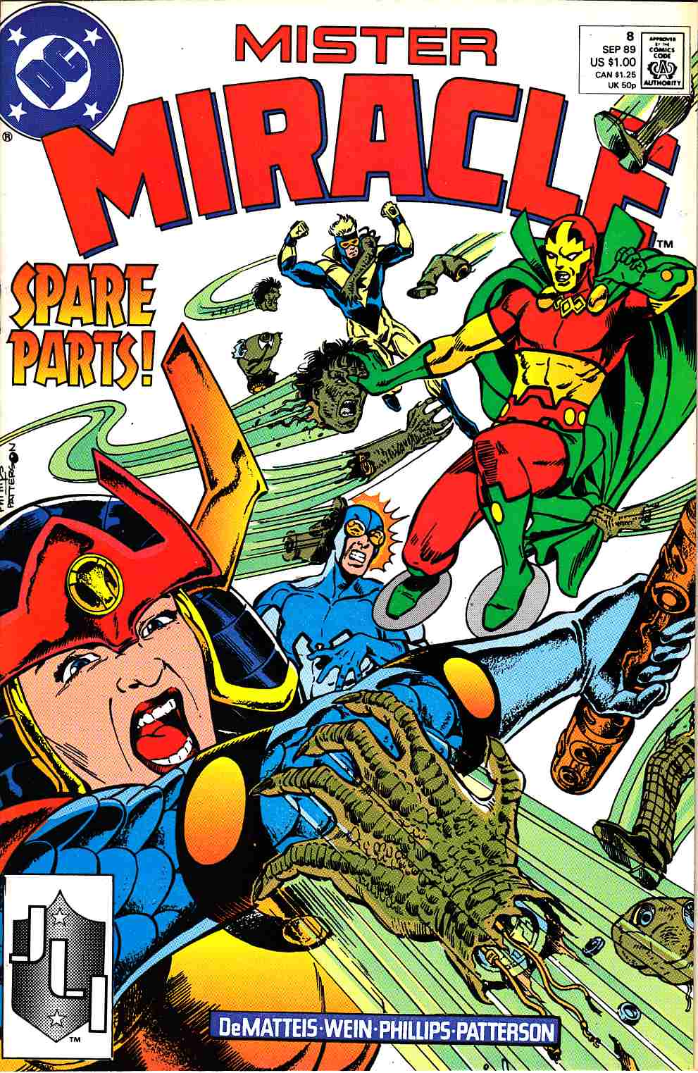 Mister Miracle #8 Near Mint (9.4) [DC Comic] THUMBNAIL
