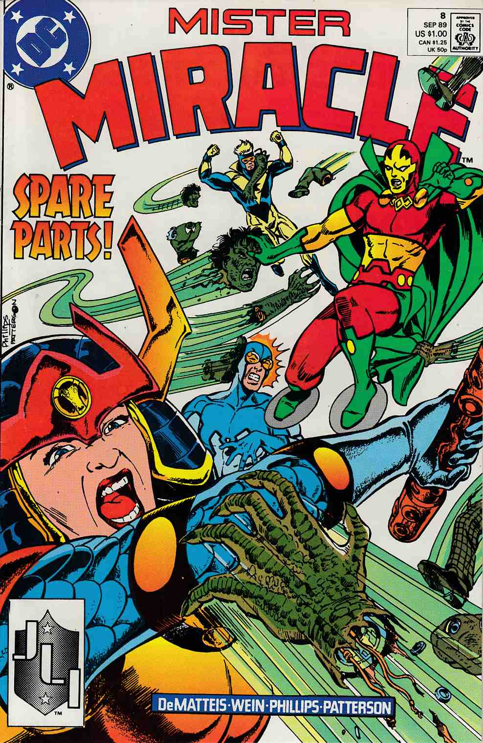 Mister Miracle #8 Very Fine (8.0) [DC Comic] THUMBNAIL