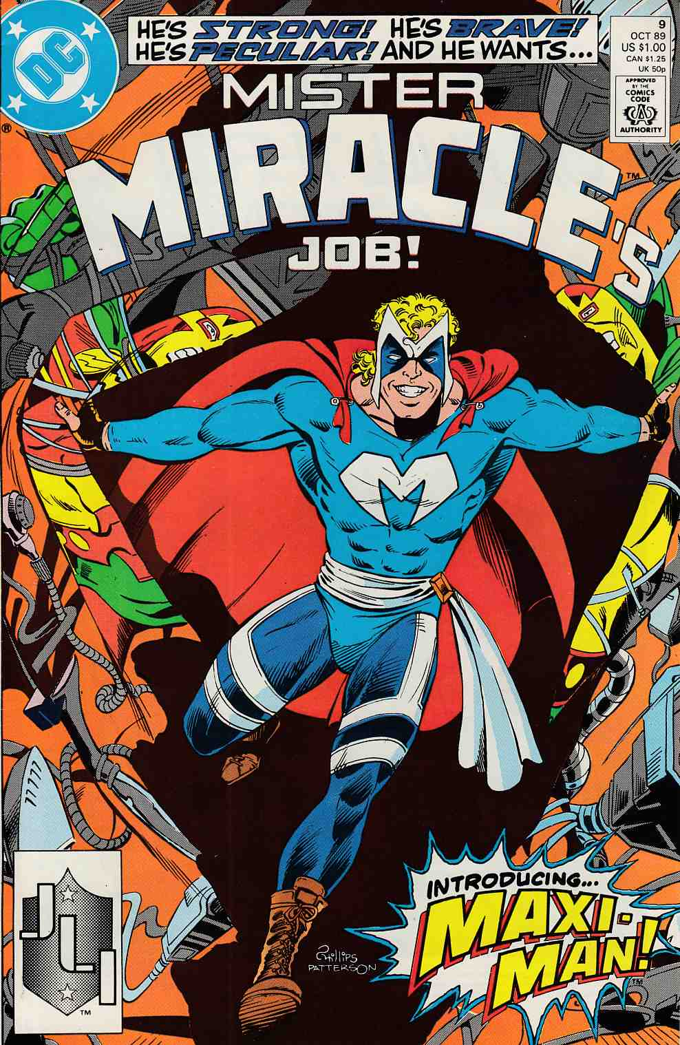 Mister Miracle #9 Fine (8.0) [DC Comic] LARGE