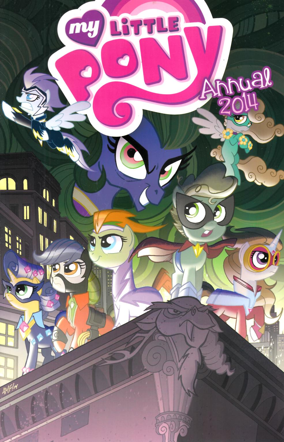 My Little Pony 2014 Annual Cover RI [Comic] THUMBNAIL