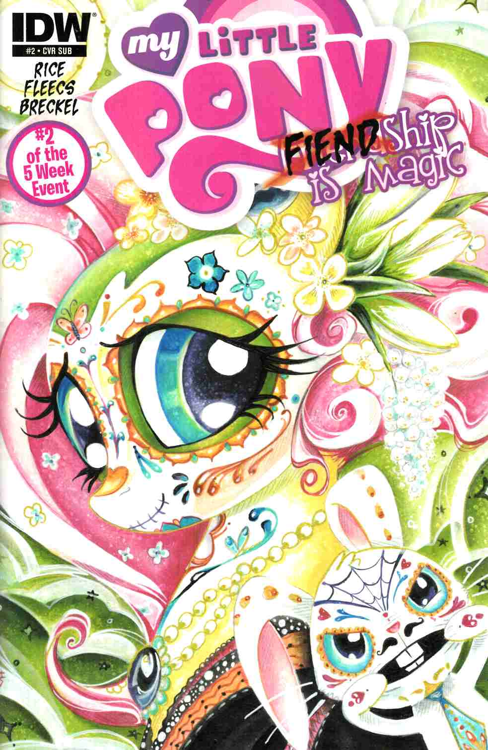 My Little Pony Fiendship Is Magic #2 Subscription Cover [IDW Comic] THUMBNAIL