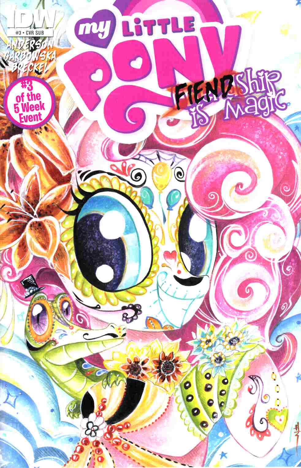 My Little Pony Fiendship Is Magic #3 Subscription Cover [IDW Comic] THUMBNAIL