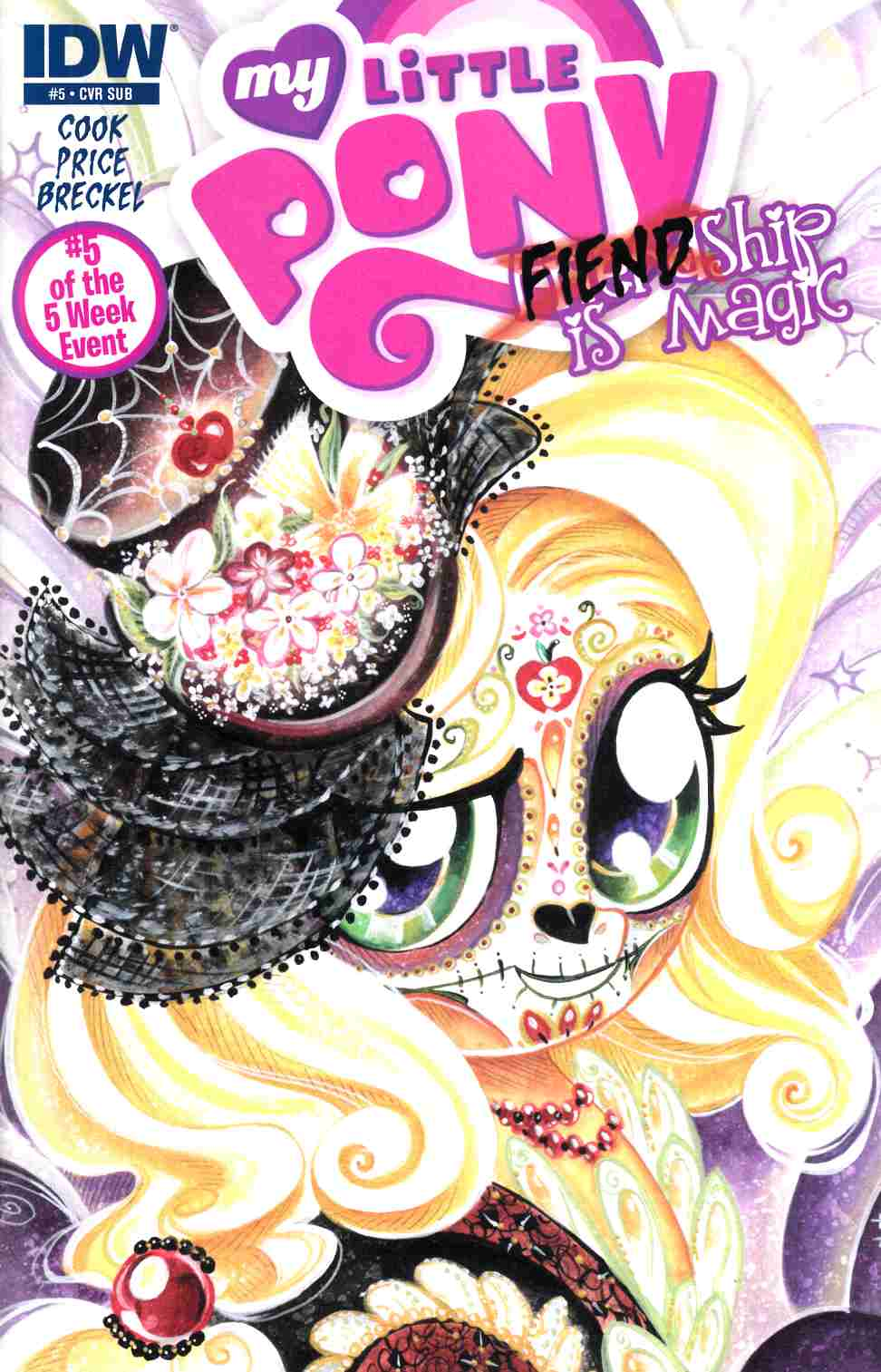 My Little Pony Fiendship Is Magic #5 Subscription Cover [IDW Comic] THUMBNAIL