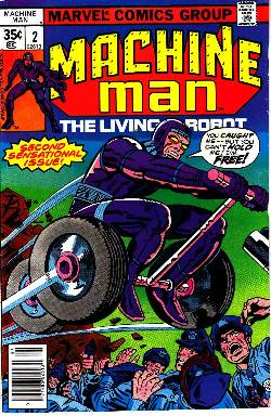 Machine Man #2 [Marvel Comic] LARGE