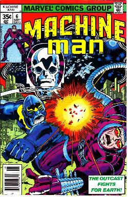 Machine Man #6 [Marvel Comic] LARGE