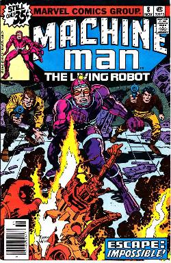 Machine Man #8 [Marvel Comic] LARGE