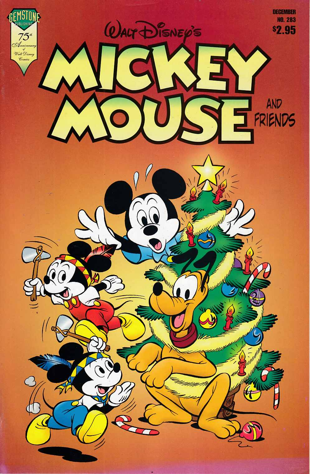 Mickey Mouse and Friends #283 Very Fine (8.0) [Gemstone Comic] THUMBNAIL