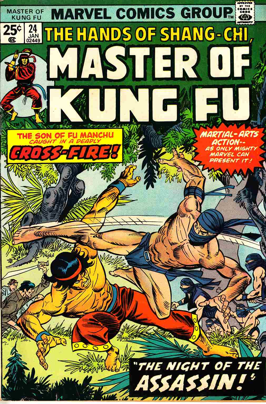 Master of Kung Fu #24 Very Good Plus (4.5) [Marvel Comic]