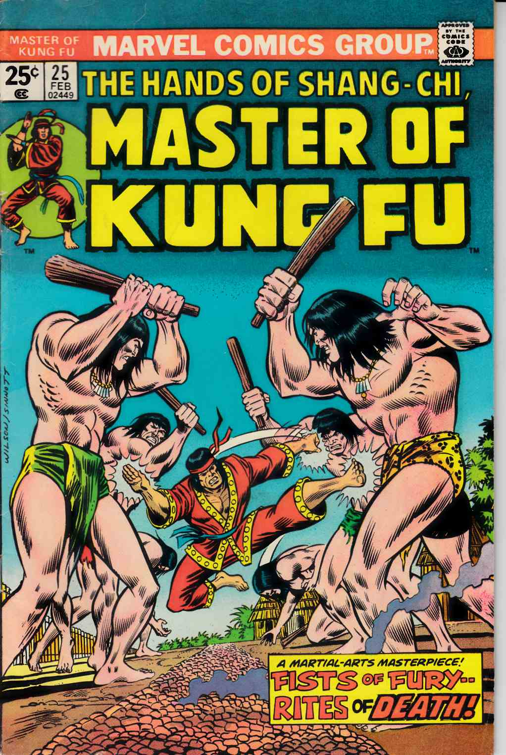 Master of Kung Fu #25 Fine Minus (5.5) [Marvel Comic] LARGE