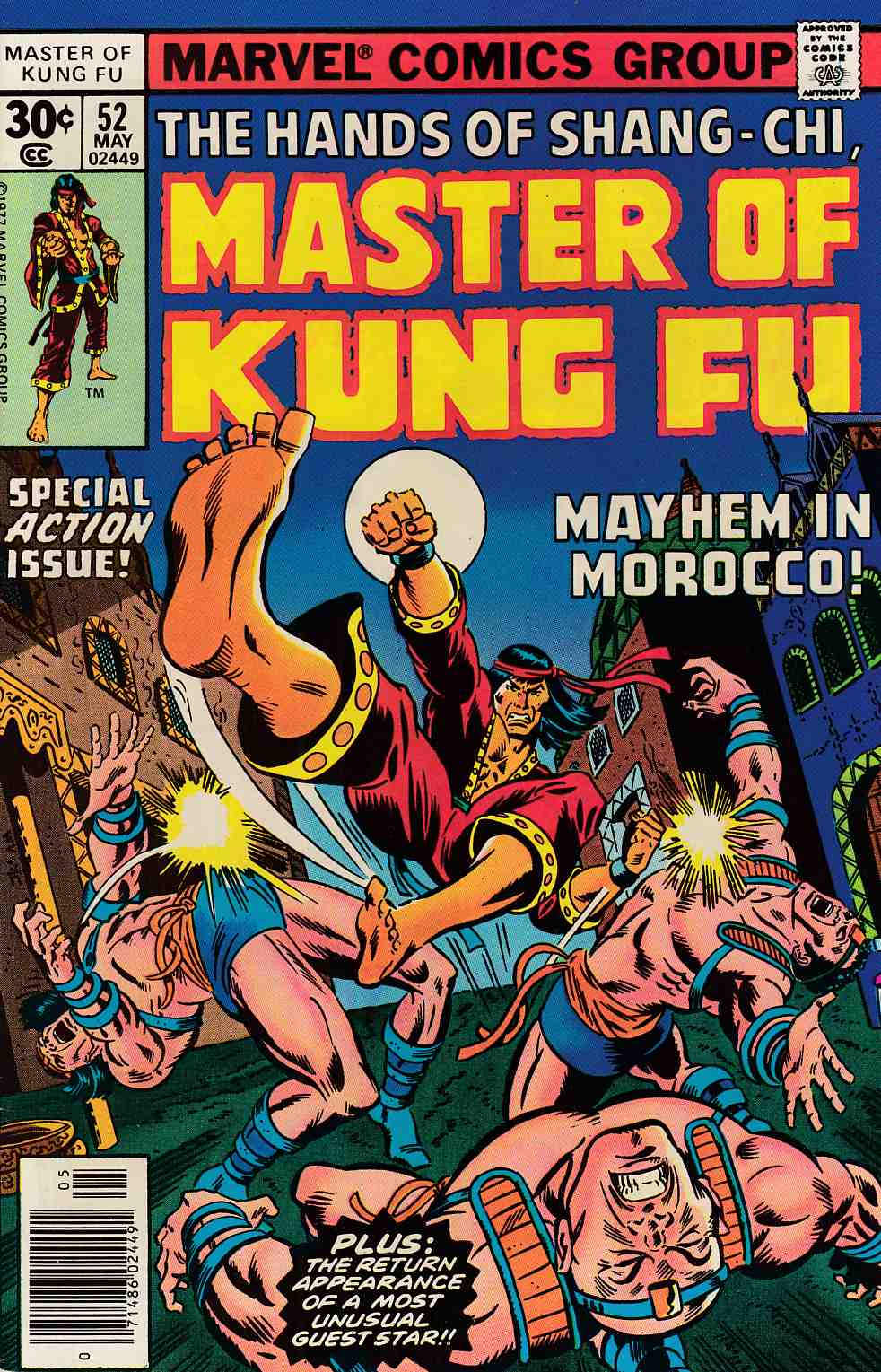 Master of Kung Fu #52 Very Fine (8.0) [Marvel Comic] LARGE