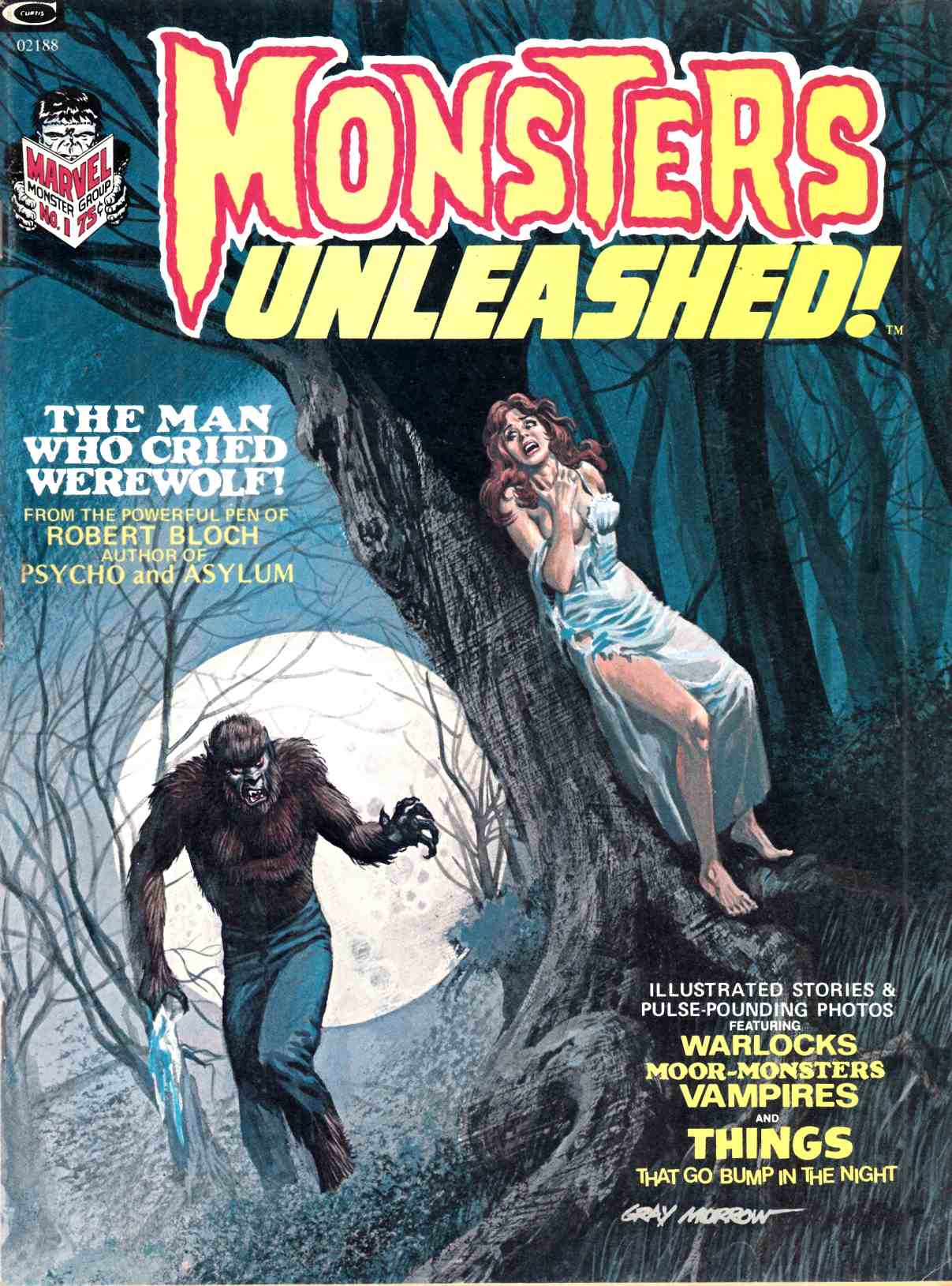 Monsters Unleashed #1 Very Fine Minus (7.5) [Marvel Magazine] THUMBNAIL