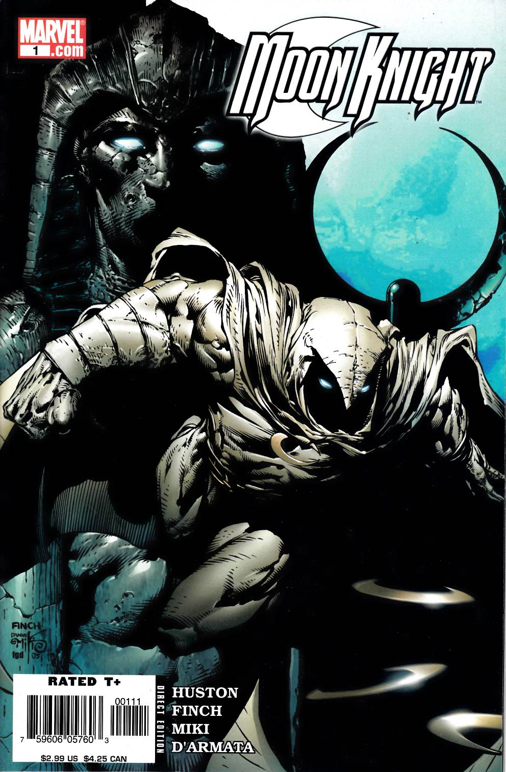 Moon Knight #1 Fine (6.0) [Marvel Comic] THUMBNAIL