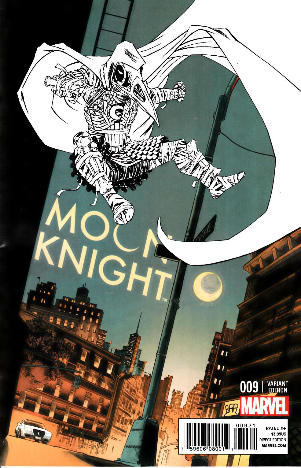 Moon Knight #9 Shalvey Variant Cover [Marvel Comic] THUMBNAIL