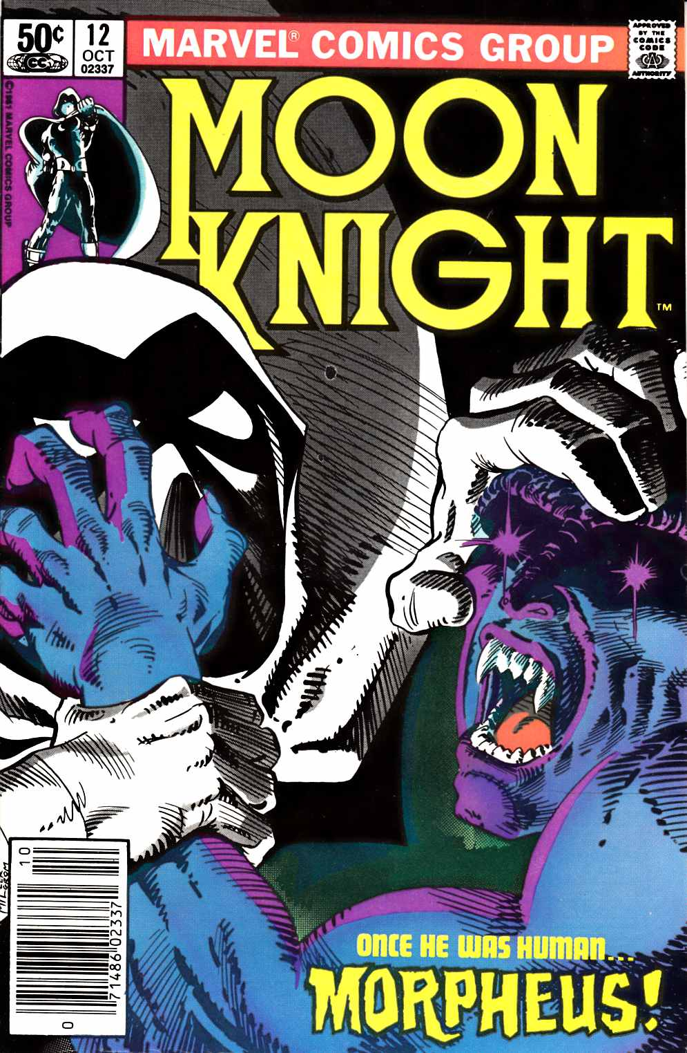 Moon Knight #12 Very Fine Plus (8.5) [Marvel Comic] THUMBNAIL