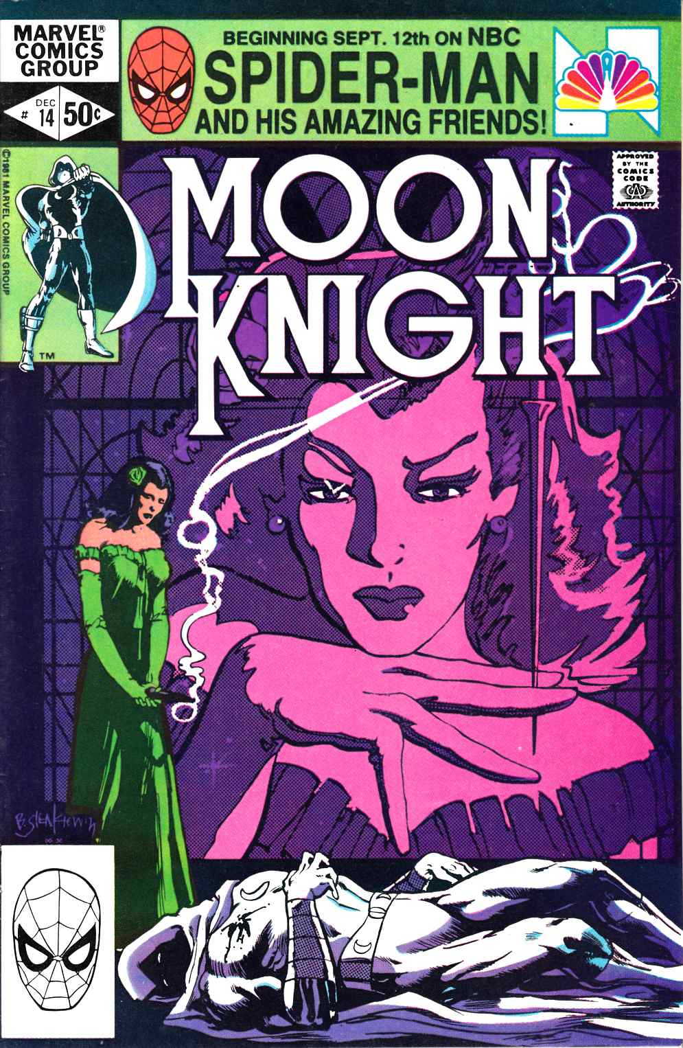 Moon Knight #14 Very Fine (8.0) [Marvel Comic] THUMBNAIL