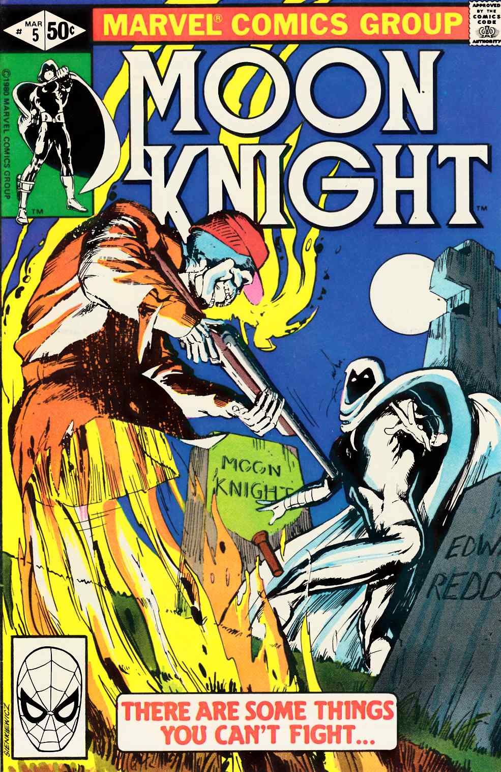 Moon Knight #5 Very Fine (8.0) [Marvel Comic] THUMBNAIL