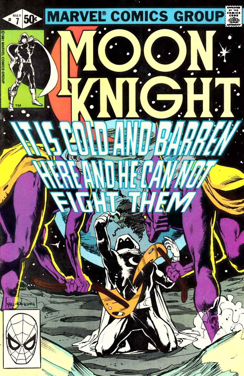 Moon Knight #7 Very Fine Plus (8.5) [Marvel Comic] THUMBNAIL