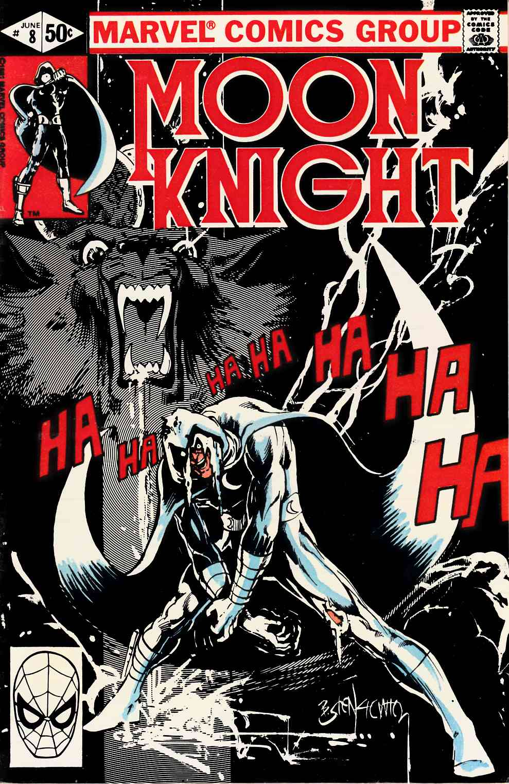 Moon Knight #8 Fine/Very Fine (7.0) [Marvel Comic] THUMBNAIL